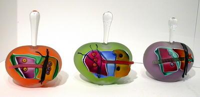 Wilbat art glass
