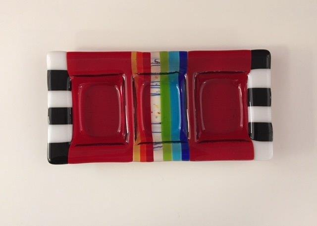 Kathy Hudson Rainbow Red