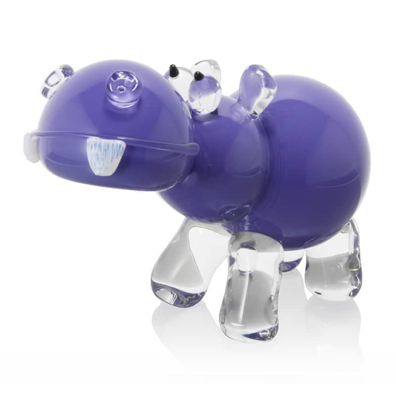 Hippo purple 10x4x6.5